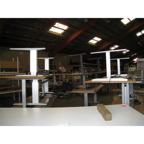 Højdejusterbare Skriveborde (hæve/sænk)